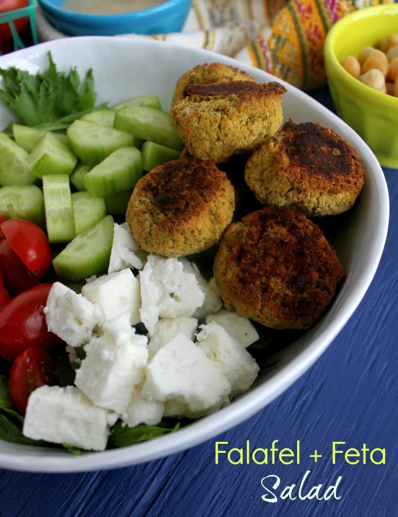 falafel feta salad jewhungry kosher