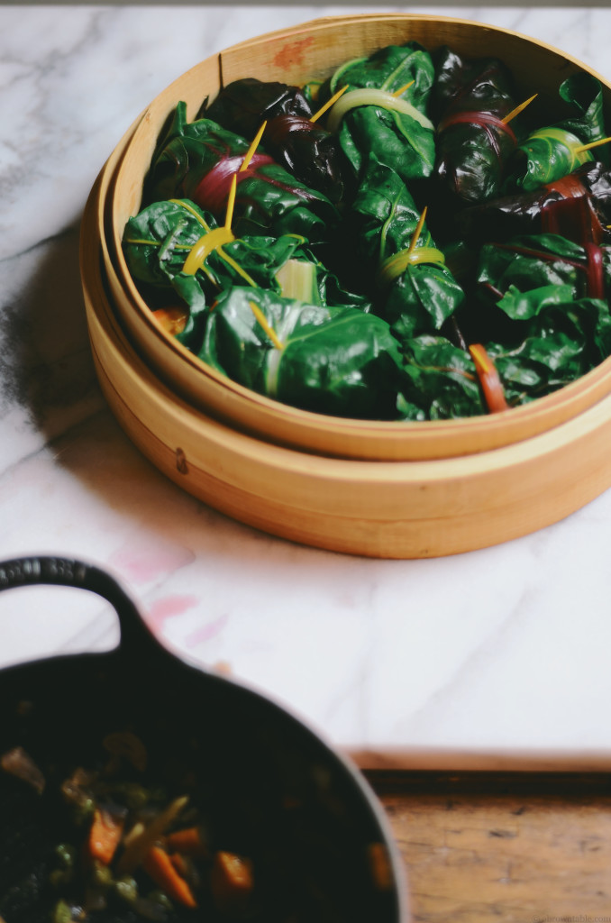 Rainbow Chard Rolls 5@abrowntable
