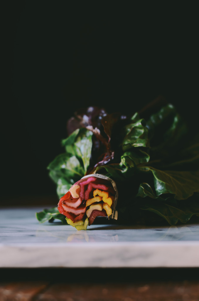 Rainbow Chard Rolls @abrowntable