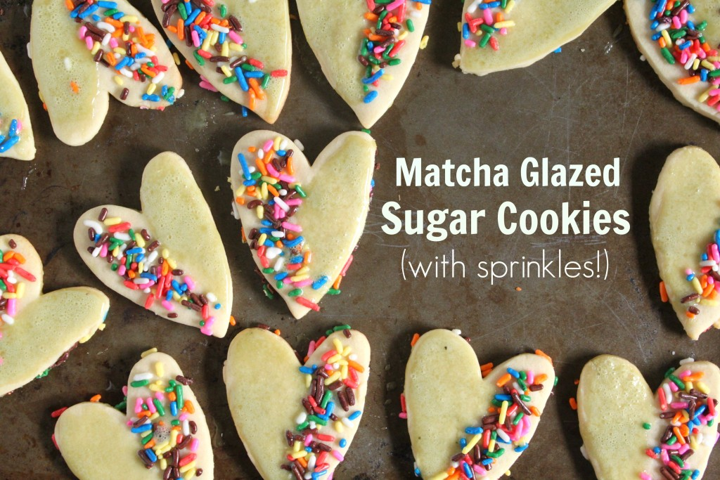 Matcha glazed cut-out sugar cookies jewhungry kosher
