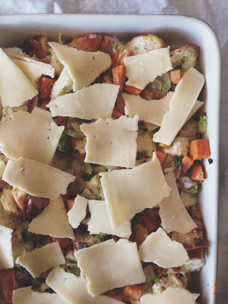 challah Breakfast casserole jewhungry kosher blog